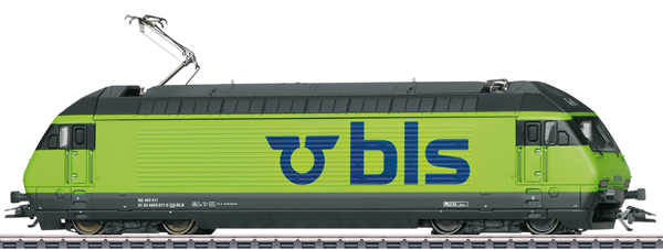 Marklin 39462 - Swiss Electric Locomotive Class 465 of the BLS (Sound)