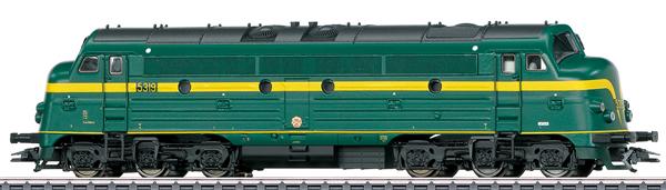 Marklin 39678 - Belgian Diesel Locomotive Class 53 of the SNCB (Sound)