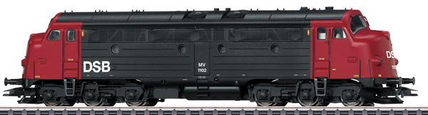 Marklin 39685 - Danish Diesel Locomotive MV of the DSB