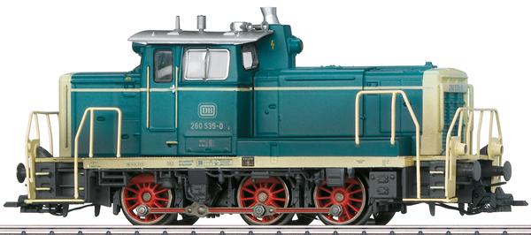 Marklin 39690 - German Diesel Locomotive Class 260 of the DB (Sound Decoder) -MHI Exclusive