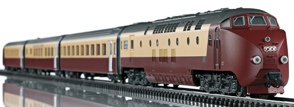 Marklin 39706 - Swiss Diesel Powered Railcar Train Class RAm TEE EDELWEISS (Sound Decoder) - Marklin Club