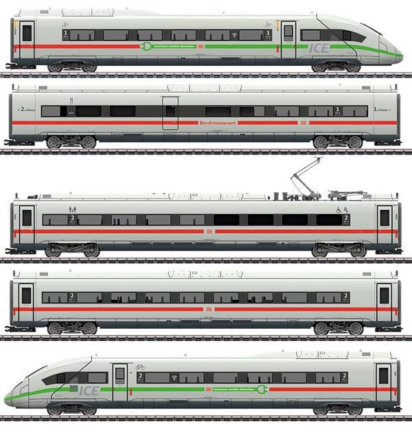 Marklin 39716 - German High Speed Train ICE 4 of the DB AG