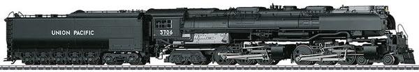 Marklin 39911 - USA Steam Locomotive with Oil Tender Challenger of the UP (Sound Decoder)