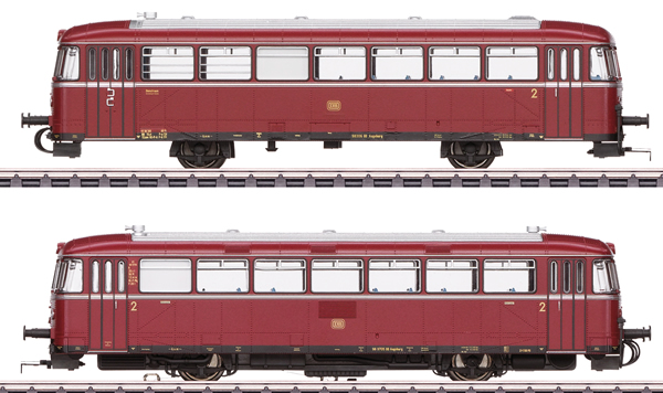 Marklin 39978 - German Powered Rail Car Class VT 98.9 of the DB (Sound)