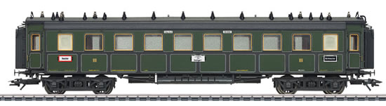 Marklin 41358 - Expres Train Passenger Car 3rd Class Type CCu