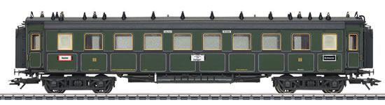Marklin 41358 - Expres Train Passenger Car 3rd Class Type CCu
