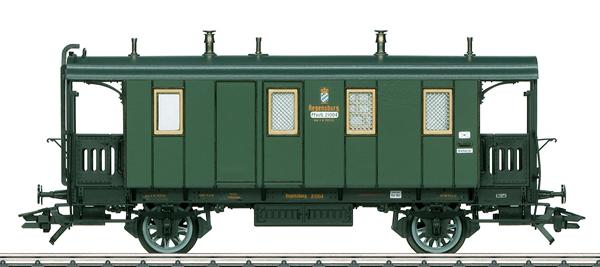 Marklin 42061 - K.Bay.Sts.B. Type PpostL Postal and Baggage Car, Era I