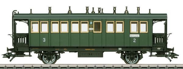 Marklin 42071 - K.Bay.Sts.B. Type BCL Bavarian Design Passenger Car, Era I