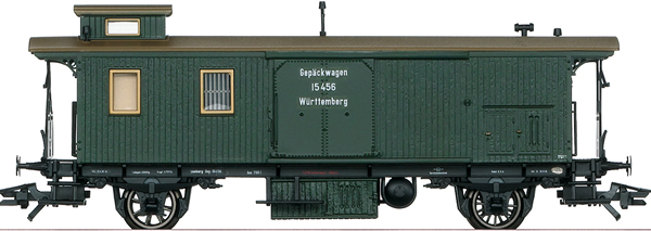 Marklin 42122 - K.W.St.E. Württemberg Baggage Car, Era I