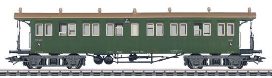 Marklin 42143 - Express Train Open Platform Passenger Car, 4th Class