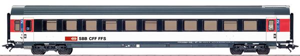 Marklin 42157 - SBB Express Train Passenger Car, IC-Design, Era VI