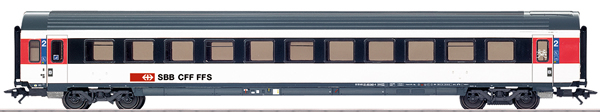Marklin 42157 - SBB Express Train Passenger Car, IC-Design, Era VI