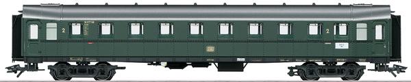 Marklin 42254 - DB Hecht/Pike Express Train Passenger Car, 2nd Class, Era III