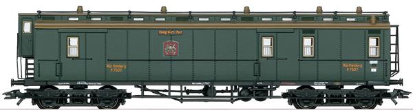 Marklin 42292 - K.W.ST.E. Württemberg Mail Car, Era I