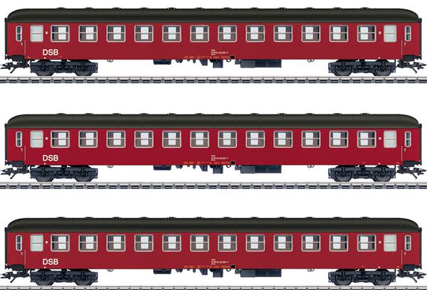 Marklin 42694 - Danish Passenger 3-Car Set of the DSB
