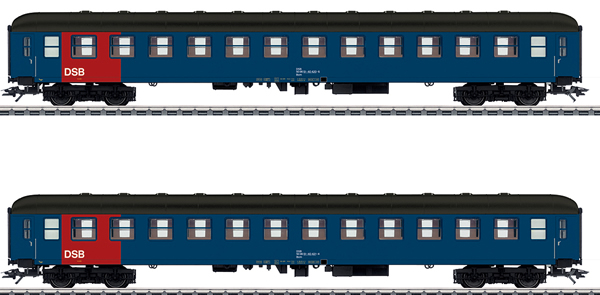 Marklin 42695 - Danish Passenger 2-Car Set of the DSB
