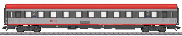 Marklin 42743 - ÖBB Type Bmz Passenger Car, 2nd Class, Era VI