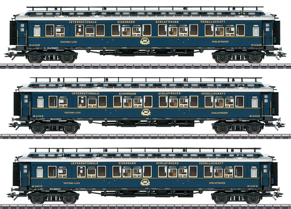 "Marklin 42791 - ""Simplon Orient Express"" Express Train Passenger Car Set 2"