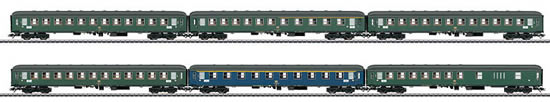Marklin 42912 - German 6pc Interzone Express Train Passenger Car Set of the DB