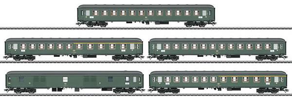 Marklin 42918 - 5pc Express Train Passenger Car Set for D 360 Express Train