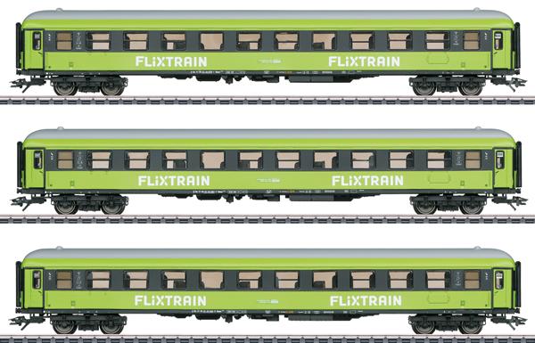 Marklin 42955 - Express Train Passenger Car Set - MHI Exclusive