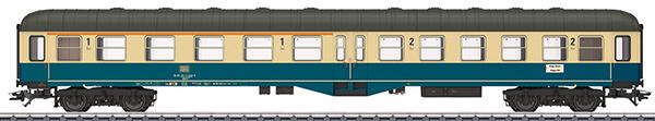 Marklin 43125 - DB Type ABylb 411 Passenger Car, 1st/2nd Class, Era IV