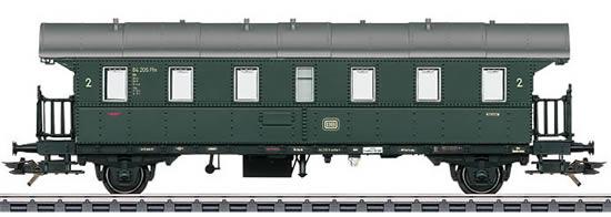 Marklin 43132 - type Bi Donnerbüchse / Thunder Box Standard Design Passenger Car, 2nd Class