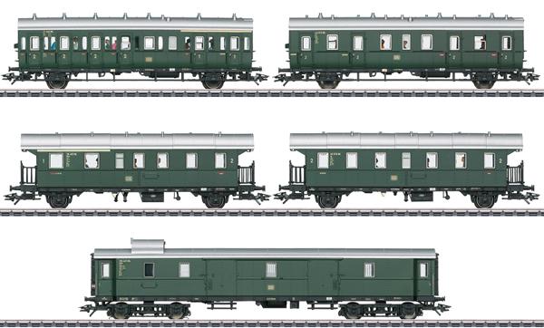 Marklin 43144 - Passenger Car Set for the Class E 44.5 - INSIDER MODEL