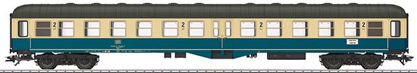 Marklin 43165 - DB Type Bylb 421 Passenger Car, 2nd Class, Era IV