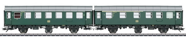 Marklin 43173 - Double Unit Passenger Car Type AB3ygeb with Type B3ygeb
