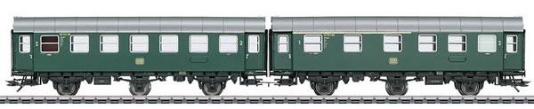Marklin 43173 - Double Unit Passenger Car Type AB3ygeb with Type B3ygeb
