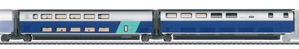 Marklin 43443 - Add-On Car Set 3 for the TGV Euroduplex