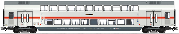 Marklin 43482 - DB AG IC2 Bi-Level Intermediate Car, 2nd Class, Era VI
