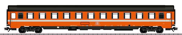 Marklin 43521 - SNCB Type BI6 Passenger Car, 2nd Class, Era IV