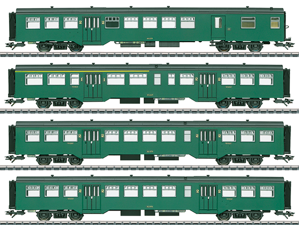 Marklin 43546 - Belgian Passenger Car Set M2