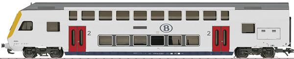 Marklin 43573 - NMBS/SNCB Era VI Passenger Train Theme Extension Set, Era VI