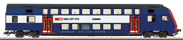 Marklin 43575 - Swiss Bi-Level Control Car,S-Bahn Zürich of the SBB