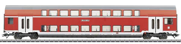 Marklin 43584 - 1st / 2nd Class Double Decker Passenger Coach