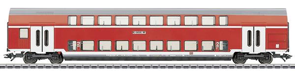 Marklin 43585 - 2nd Class Double Decker Passenger Coach DBz 751