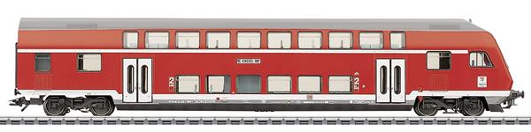 Marklin 43586 - 2nd Class Double Decker Cab Control Car DBbzf 761