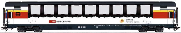 Marklin 43650 - SBB Gotthard Panorama Express Passenger 3-Car Set., Era VI