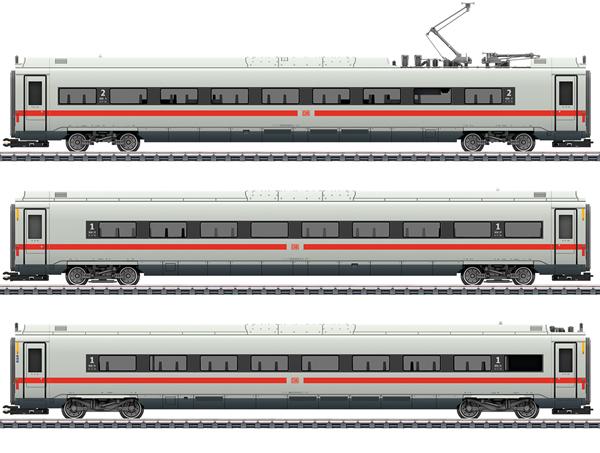 Marklin 43724 - DB AG Add-On 3-Car Set for the ICE 4, Era VI