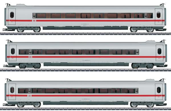 Marklin 43735 - Add-on 3 Car Set for the DB AG ICE 3