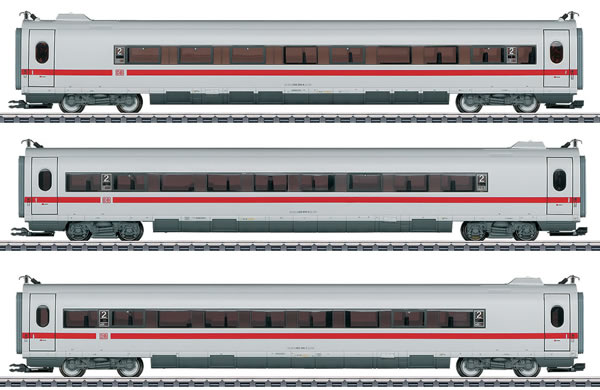 Marklin 43735 - Add-on 3 Car Set for the DB AG ICE 3