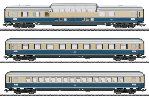 Marklin 43881 - Rheinpfeil 1963 Express Train Passenger Car Set 1