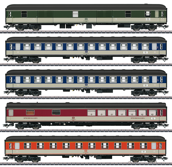 Marklin 43917 - 5pc Passenger Car Set - MHI Exclusive