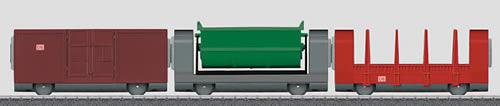 Marklin 44100 - My World Add-on 3-Car Set for #29210 Freight Train Starter Set
