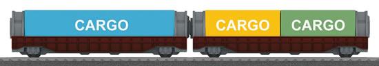Marklin 44109 - Container Car Set