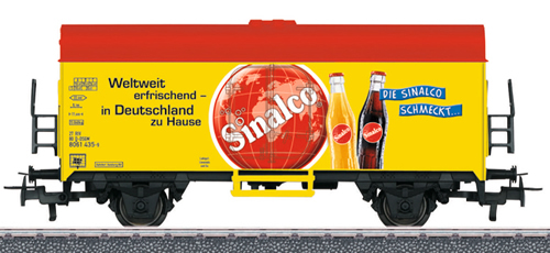 Marklin 44213 - Sinalco Refrigerator Car - Start Up