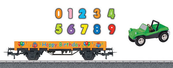 Marklin 44231 - Happy Birthday car - Start up